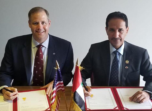 UAE Space Agency, NASA Sign Letter of Intent