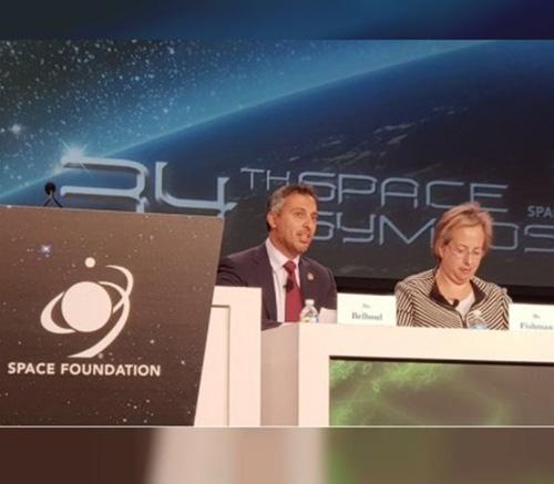 UAE Space Agency Participates in 34th Space Symposium