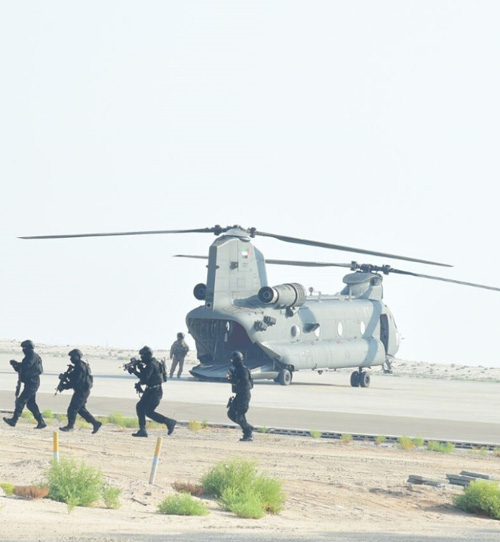 "UAE-US Conclude ""Iron Magic 18"" Military Exercise"