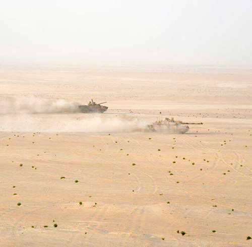 "UAE-US Joint Military Training ""Iron Union 6"" Continues"