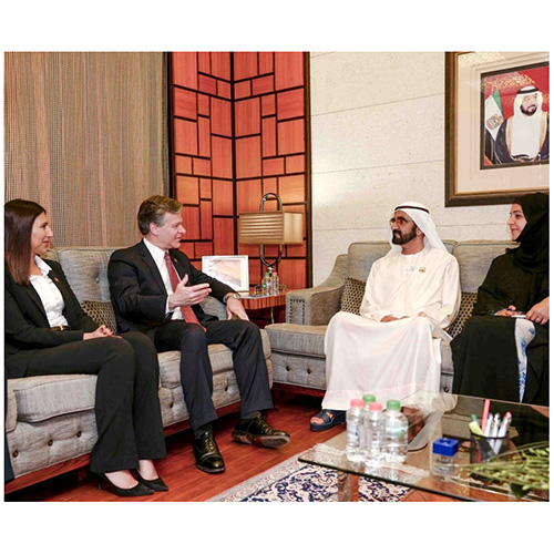 UAE Vice President Receives FBI Director