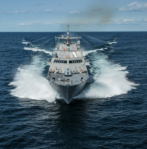 U.S. Navy Receives 5th Freedom-Variant Littoral Combat Ship