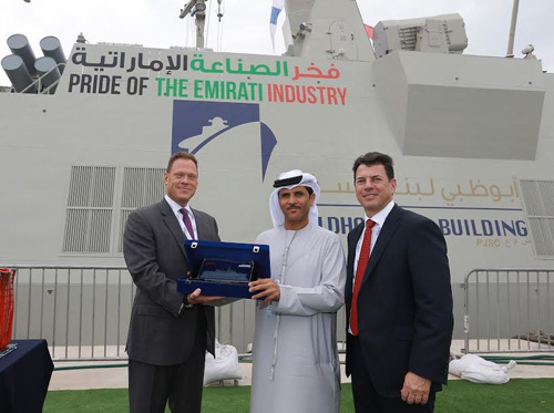 Abu Dhabi Ship Building, Raytheon Mark a Decade of Partnership