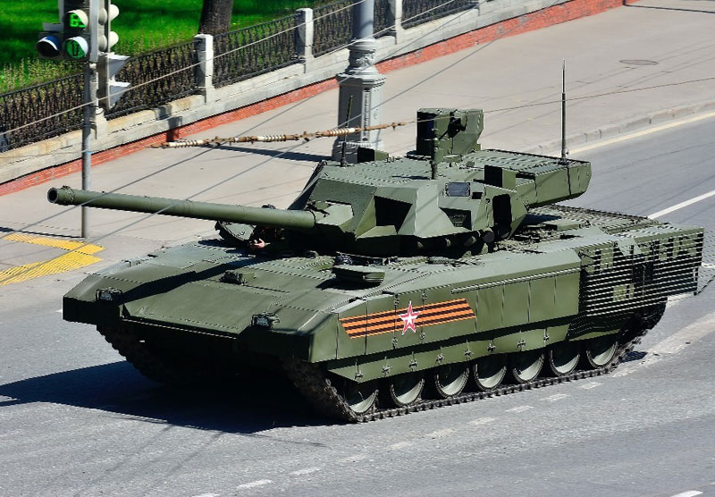 "Advanced Russian Armata T-14 Tank in ""Mass Production"""