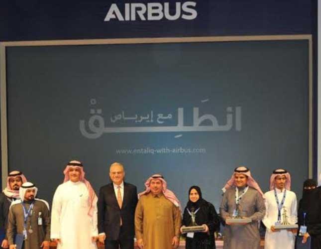 Airbus Middle East Honors Top Saudi Aviation Innovators