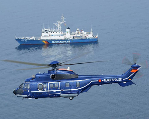 German Federal Police to Receive Three H215 Helicopters