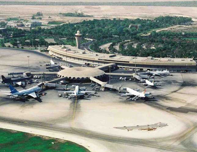Panoramic View of Abu Dhabi International Airport