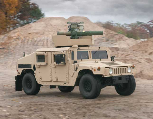 AM General Showcases Advanced Vehicles at IDEX 2017