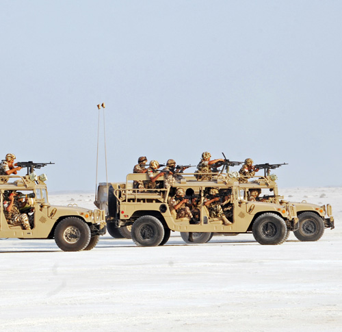 New Bahrain Defense Force Trainees Conclude Training