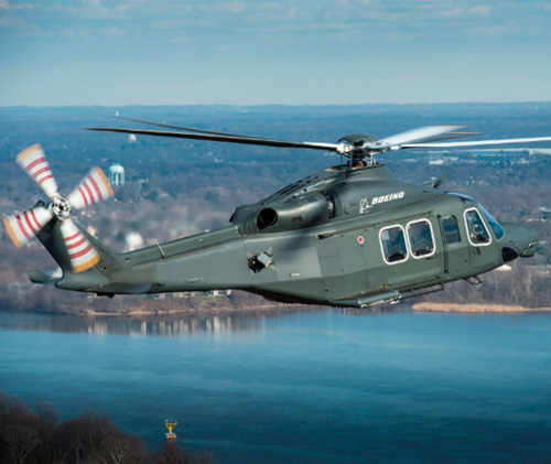 Boeing Unveils MH-139 in USAF Helicopter Competition