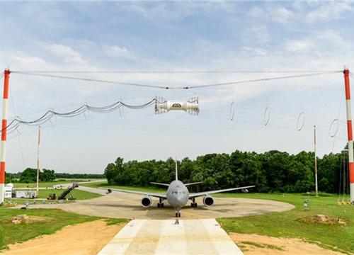 Boeing Team Completes KC-46 Tanker Electromagnetic Testing