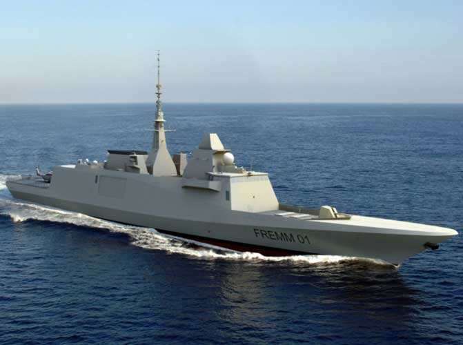 DCI Trains First Crews for Egyptian FREMM Frigates