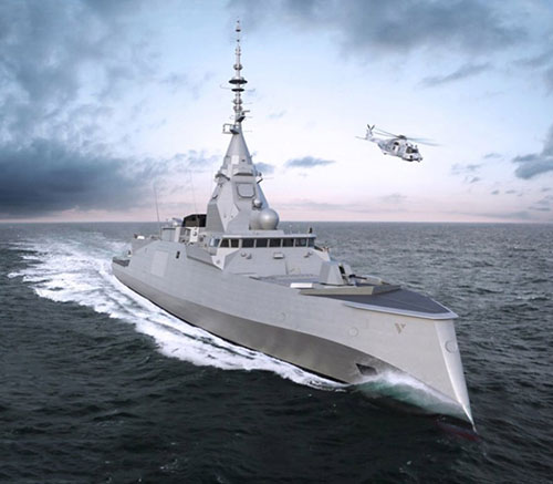 iXblue Delivers Cybersecure Navigation System for First FDI Frigate to Naval Group