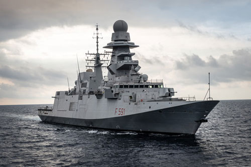 FRIGATES IN THE GULF