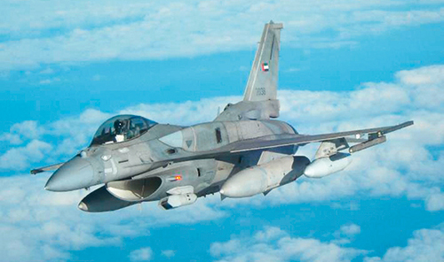 COMBAT AIRCRAFTS IN THE MIDDLE EAST