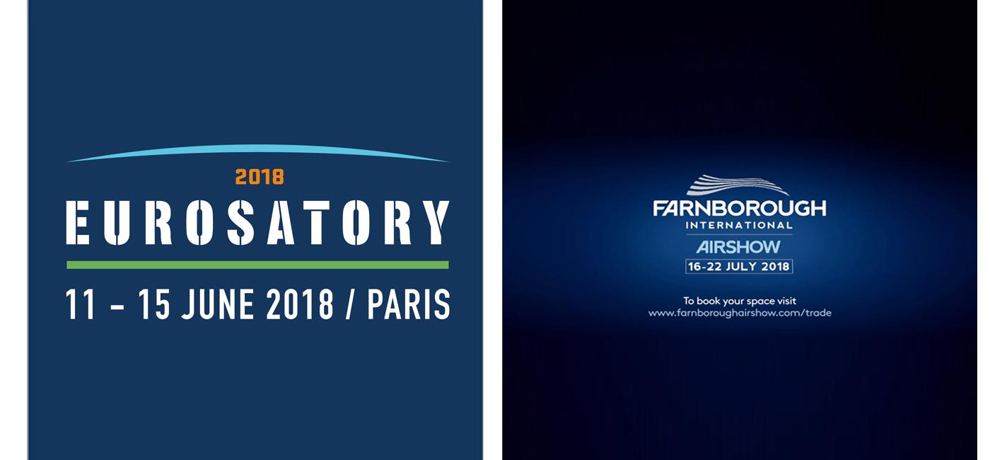 >FOCUS: EUROSATORY & FARNBOROUGH 2018