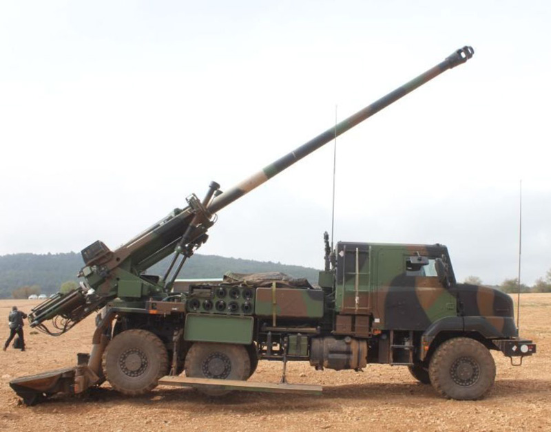 MODERN ARTILLERY IN THE MIDDLE EAST