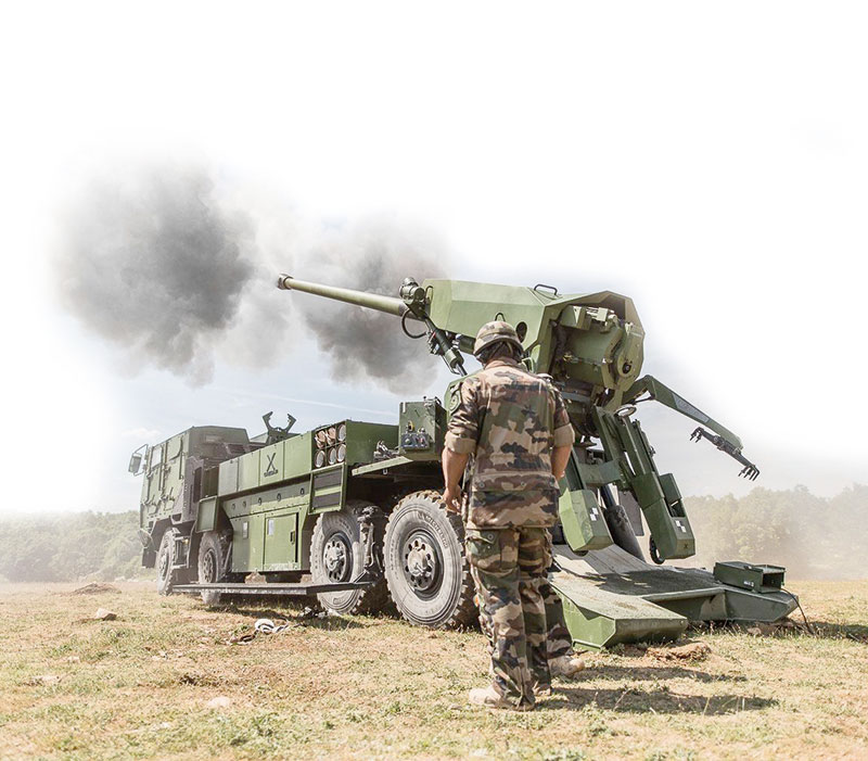 FIELD ARTILLERY & MULTI ROCKET LAUNCHERS