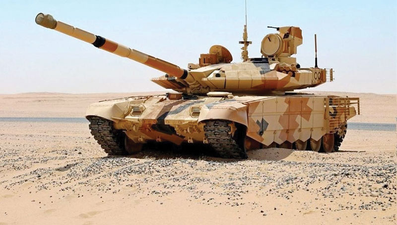 MAIN BATTLE TANKS IN THE MIDDLE EAST
