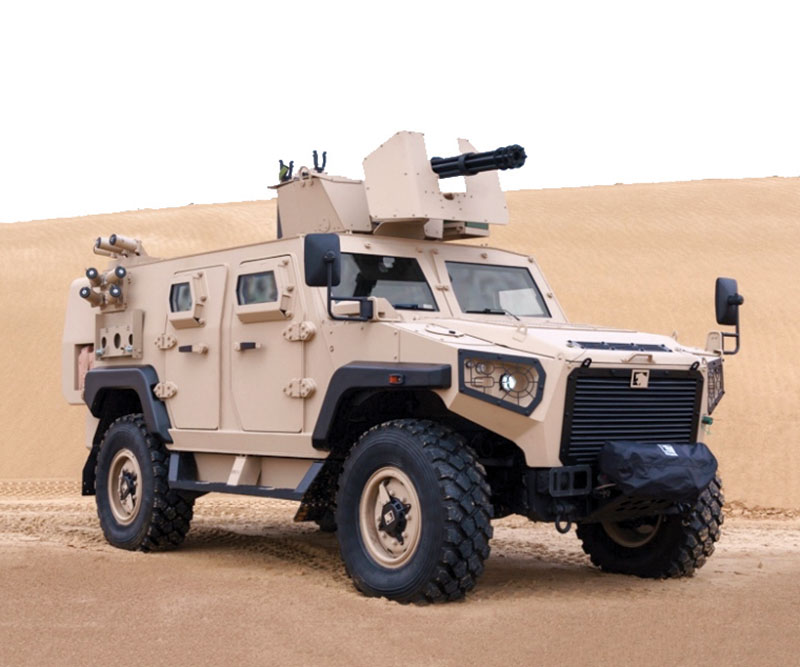 LIGHT WEIGHT ARMORED VEHICLES IN THE MIDDLE EAST