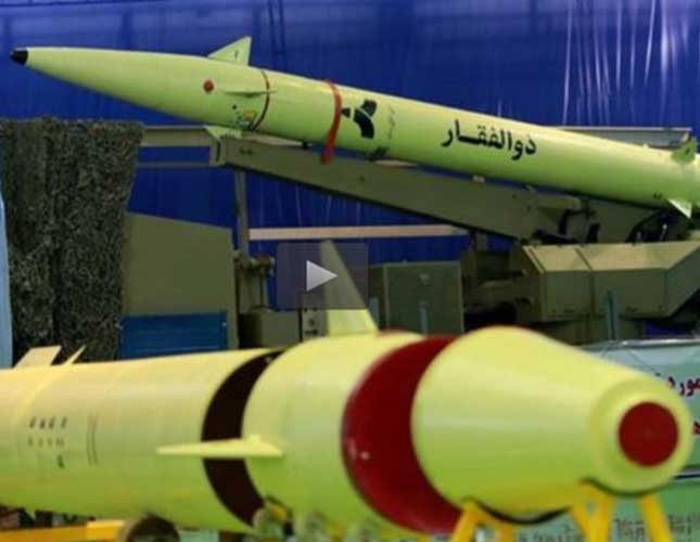 Iran Starts Production of Zolfaqar Missiles