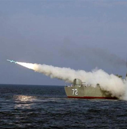 Iran Unveils Smart Anti-Ship Missiles