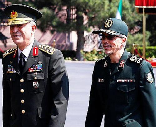 Turkish, Iranian Chiefs-of-Staff Meet in Ankara