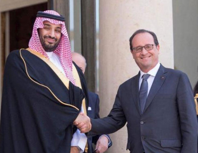 Saudi Defense Minister Visits France after USA