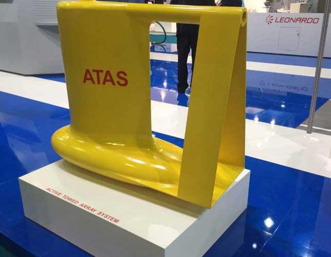 Leonardo-Finmeccanica Presents ATAS Underwater Sonar