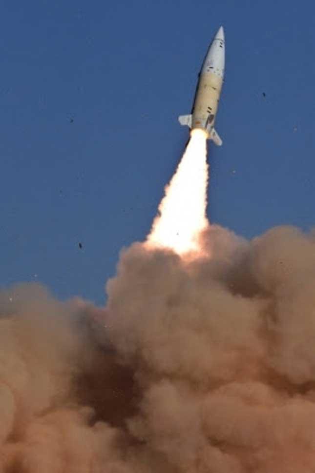 Lockheed Martin Modernized TACMS Missile Engages Target