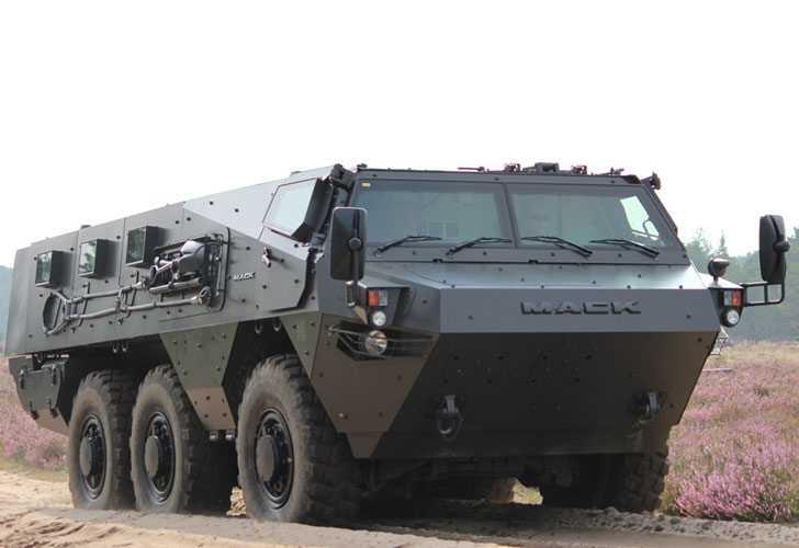 Mack Defense, JWF Industries Partner for Lakota 6x6 Vehicle System Assembly