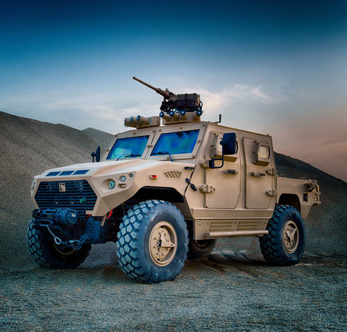 NIMR to Supply 1,750 Armored Vehicles to UAE Armed Forces