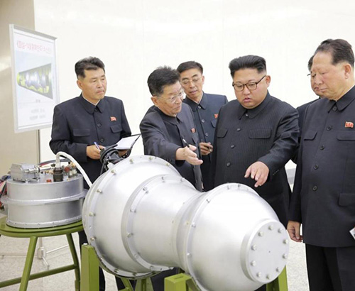 North Korea Conducts Sixth, Most Powerful Nuclear Test
