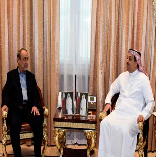 Qatar's Defense Minister Meets President of Libyan State Council