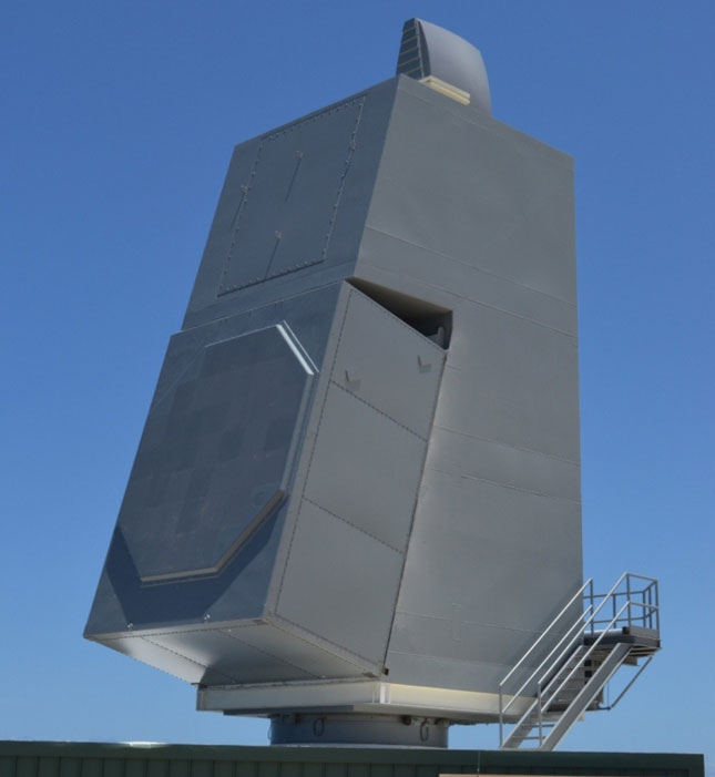 Raytheon's Air & Missile Defense Radar Prepares for Live Target Testing