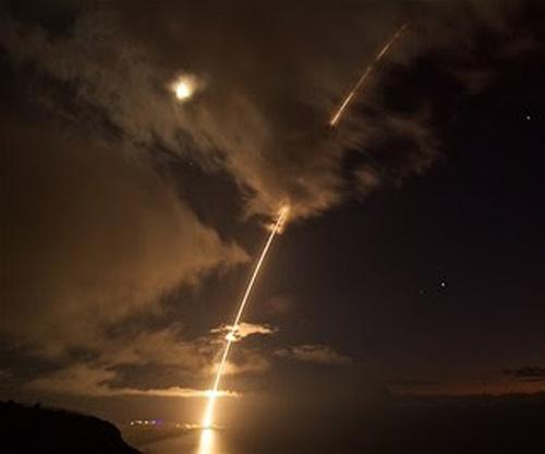 New Raytheon SM-6 Intercepts Ballistic Missile Target at Sea
