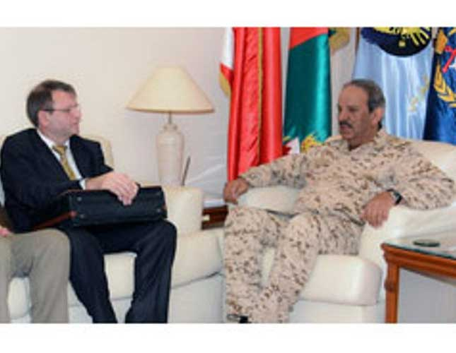Bahrain's Chief Commander Receives Rostec Delegation