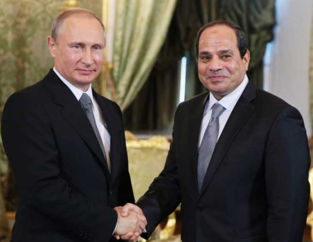 "Egypt, Russia ""Initialed or Signed"" $3 Billion Arms Deal"