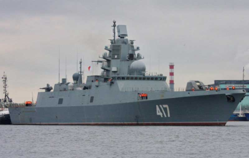 Russian Navy to Receive First Admiral Gorshkov-Class Frigate