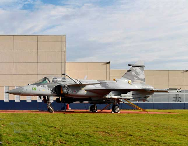 Gripen Design & Development Network Launched in Brazil