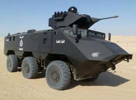 Armored Personnel Carriers to Kuwait's Ministry of Interior