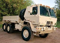 First Oshkosh FMTV to Wisconsin National Guard