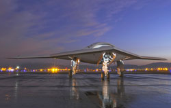 UCAS-D X-47B Completes First Flight