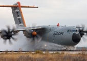 A400M Completes Water Ingestion Tests