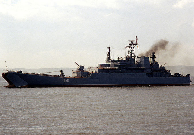 5 Russian Warships Heading to the Mediterranean
