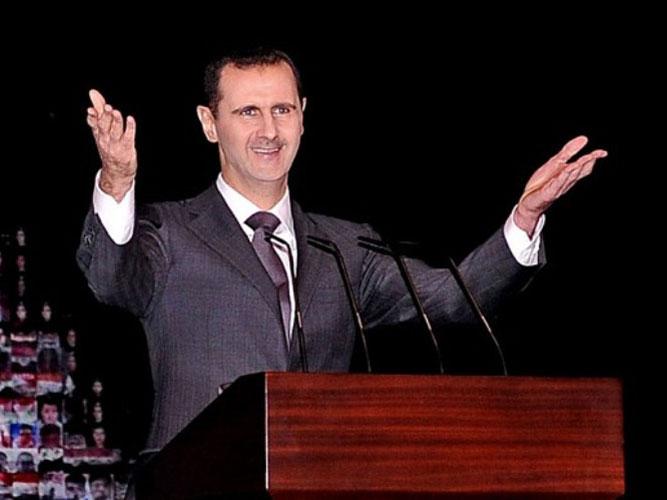 Assad Denounces Syria