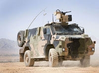 Australia Orders New Thales Bushmasters