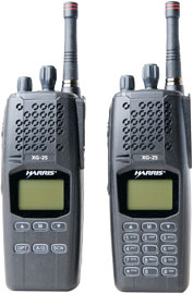 Harris' XG-25P Portable Radio for Mission-Critical Comms