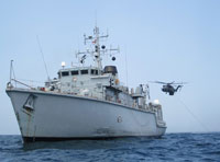 HMS Middleton, US Navy Hold Joint Exercise in the Gulf