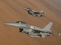 ITT to Provide EW Systems to Oman's F-16s
